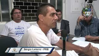 7ª S. Ordinária - Sergio Leiteiro