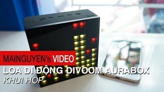 khui hop loa di dong divoom aurabox - wwwmainguyenvn