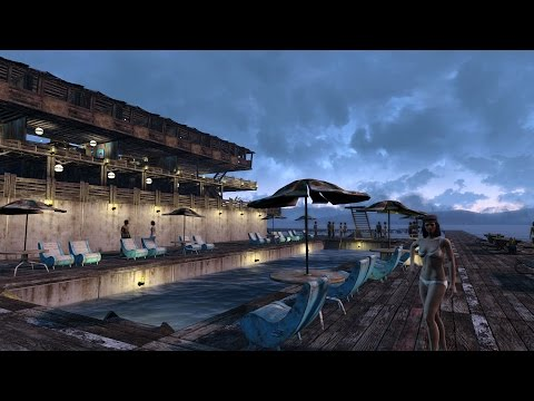 Spectacle Island Resort - Fallout 4 Settlement Tour