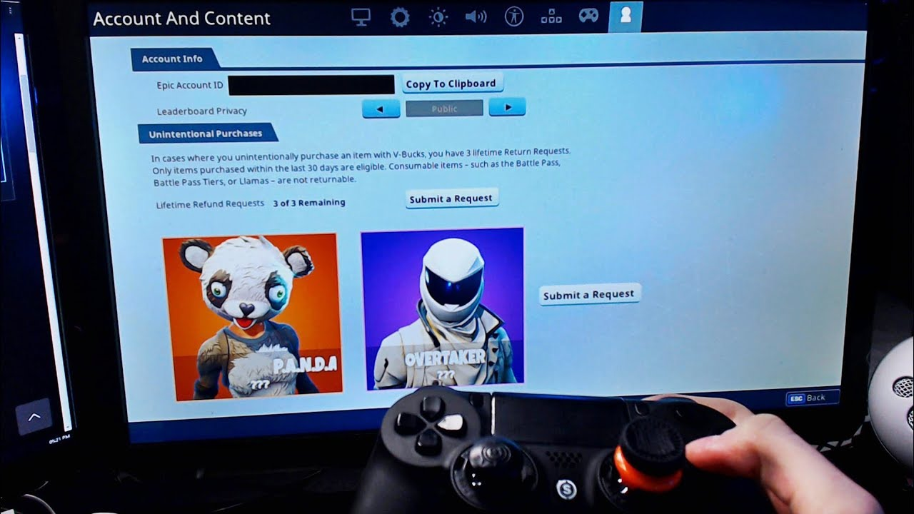 How you can gift skins in Fortnite