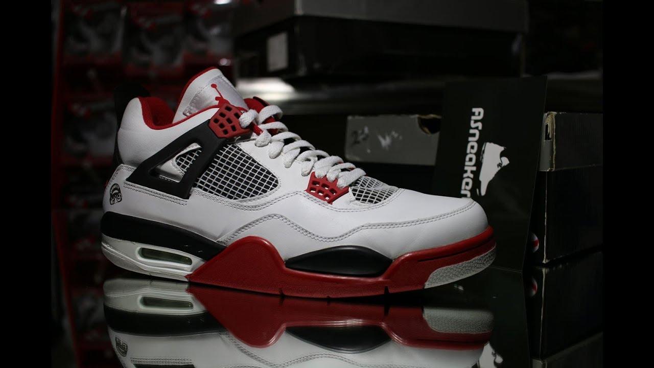 the latest 5b241 4f014 Air Jordan 4 Retro Mars Blackmon Unboxing Video at ASneakerLife