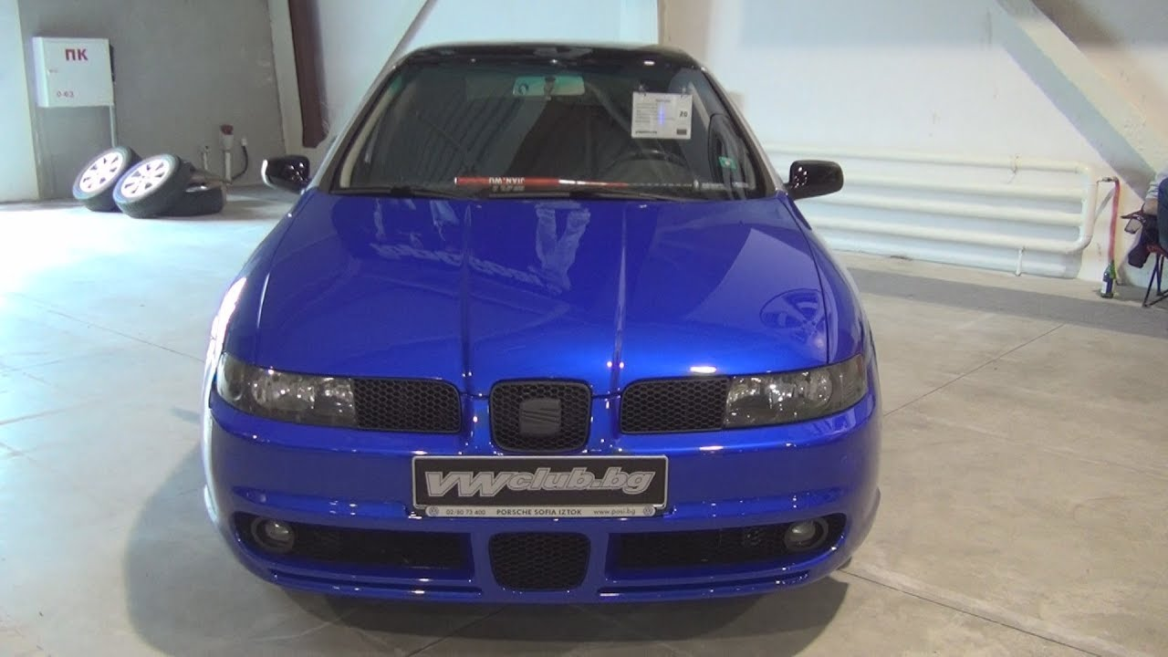 seat leon tuned 2001 exterior and interior