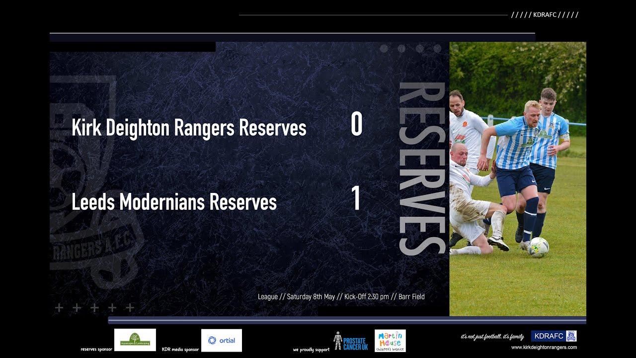 Leeds Modernians Reserves Match Highlights