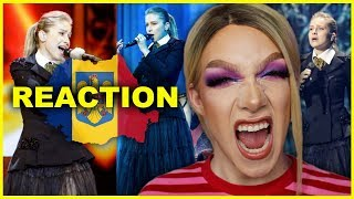 ROMANIA - Ester Peony - On a Sunday - LIVE Eurovision 2019 Reaction