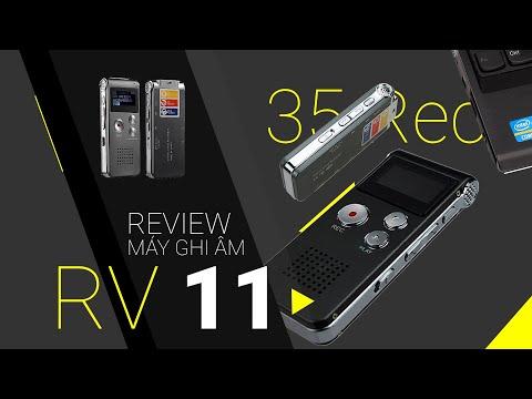 Máy Ghi âm Mini RV11 - Review Mở Hộp Và Trãi Nghiệm Nhanh Tại Huy Linh
