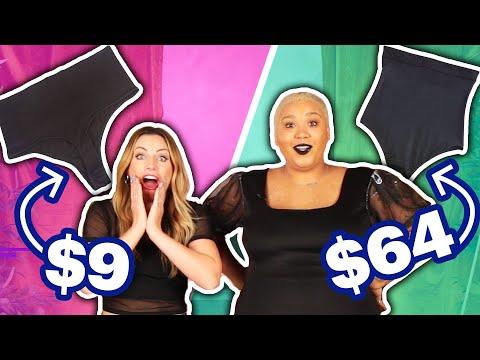 $9 Vs. $64 No-Show Underwear