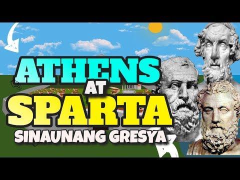 Sinaunang Gresya: Lungsod Estado ng Athens at Sparta