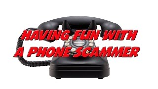 Repeat youtube video Having fun with a phone scammer