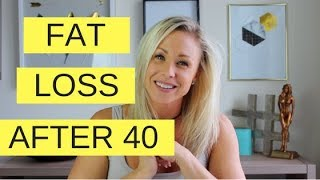 How To Lose Belly Fat After 40