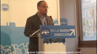 Alejandro Fernández vol evitar l'expansió de kebabs, locutoris i basars al Barri del Port