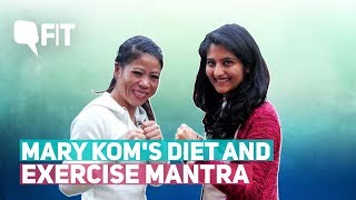 World Boxing Champion Mary Kom's Diet, Training and Exercise | Quint Fit