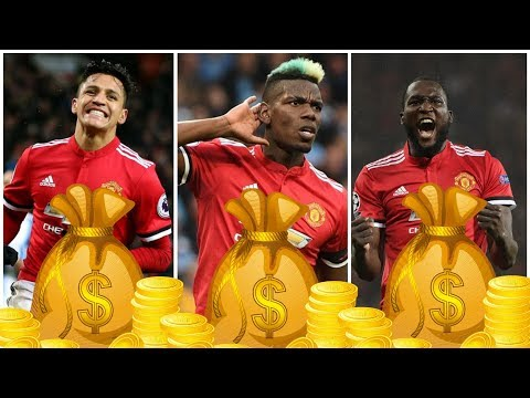 Highest Wage Bill In Premier League⚽️ Manchester United Player Salaries 2018-19