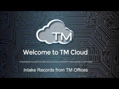 Free Trademark record intake from Trademark Offices