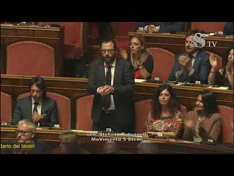 Senato Calendario.Video Stefano Patuanelli M5s Votazione Per Il