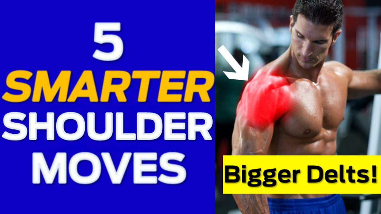 how to make your shoulders grow bigger