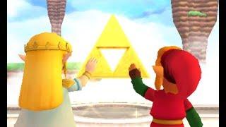 Repeat youtube video The Legend of Zelda : A Link between Worlds (Hero Mode) - Final Boss/Ending