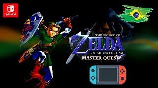 The Legend Of Zelda Ocarina Of Time Master Quest HD  no Nintendo Switch