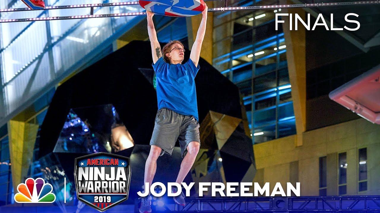 Download The Youngest Ninja of the Night: Jody Freeman - American Ninja Warrior Atlanta City Finals 2019
