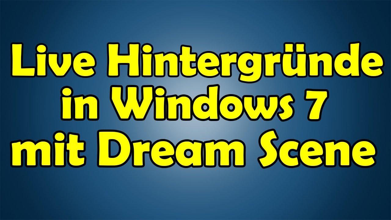 interactive live wallpaper windows 7