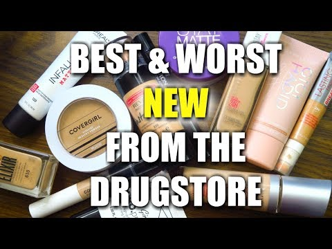 Ranking New Drugstore Face Products Best and Worst New Foundations, Concealers, Primers and Powders
