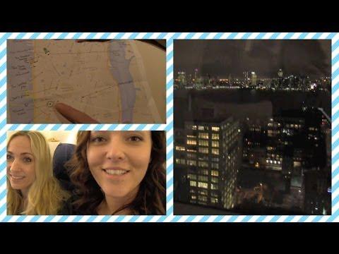 Beautygloss vlog 24 ❤ New York, KLM, Trump Soho