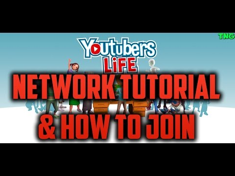 YouTubers Life Network Tutorial & How To Join