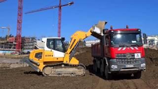 Liebherr - LR 636 crawler loader earthmoving and landscaping
