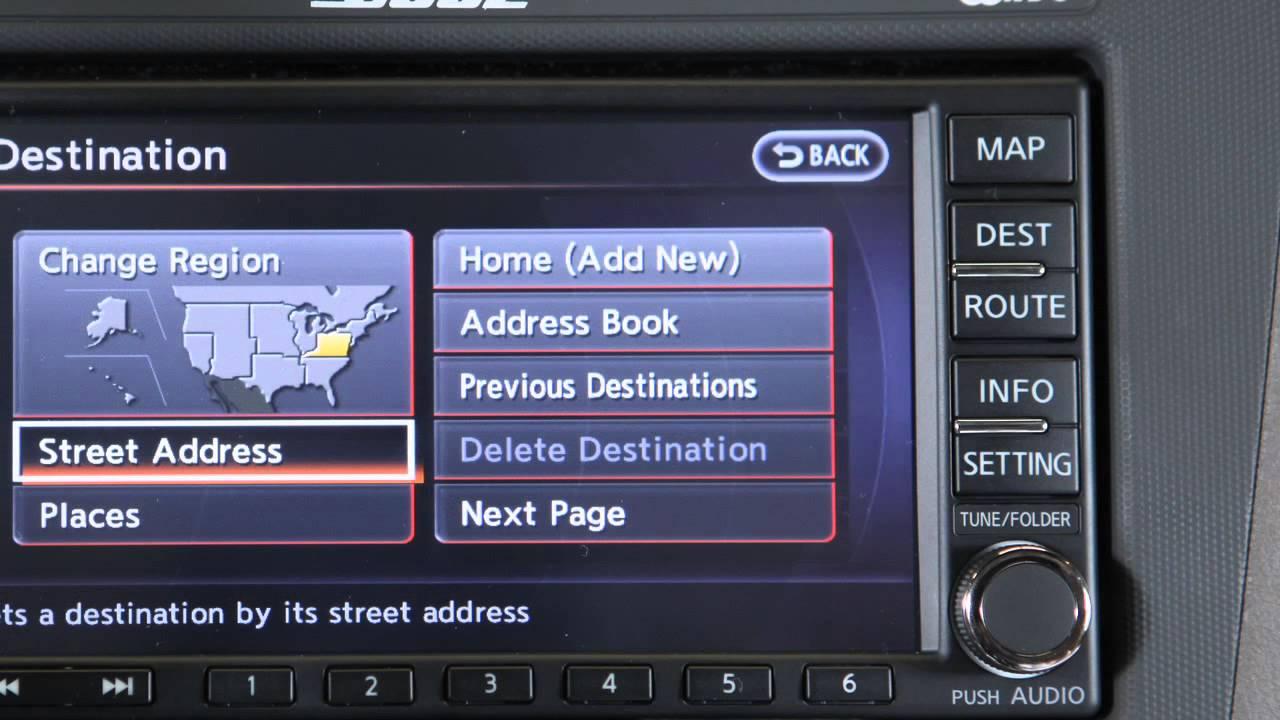 2012 nissan altima navigation system owner s manual [ 1280 x 720 Pixel ]