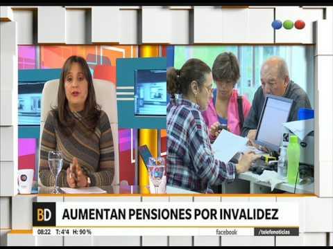 Aumentan Las Pensiones Por Invalidez – Telefe Noticias