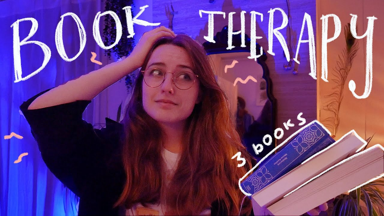 i tried reading 3 books in 1 week to resurrect myself from the dead 💀 reading vlog
