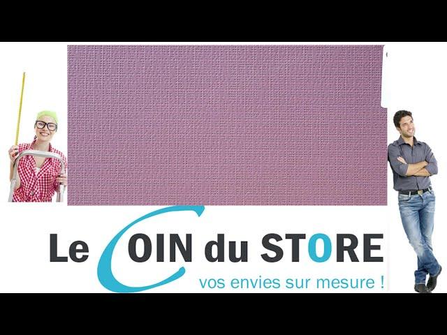 Toile PVC pour pergola et store Soltis Perform 92 Prune violet fonce 50336 Serge Ferrari