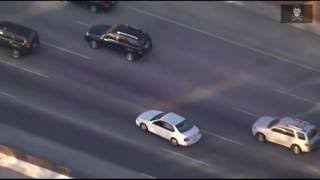 Police Chase Reckless Driver and Uses PIT Maneuver(new)