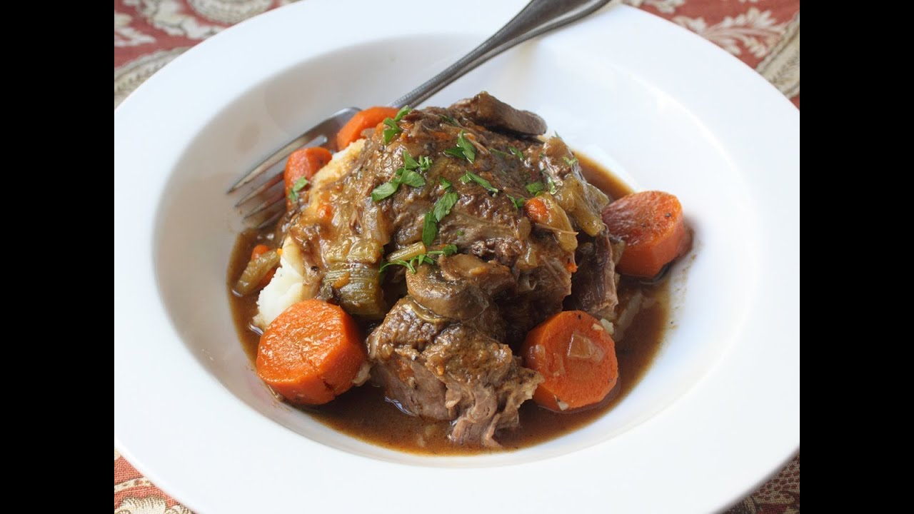 Slow Cooker Beef Pot Roast Recipe - How to Make Beef Pot Roast in a ...