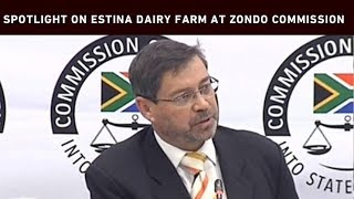 A member of the Free State legislature Roy Jankielsohn has told the state capture commission millions of rands were spent on the Estina Dairy Farm in Vrede. At least R200 million that was set aside for emerging farmers in Vrede was irregularly paid to Estina, a company that has links to the Gupta family.