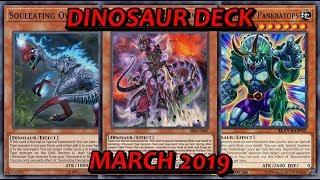 [YGO PRO] Dinosaur Deck - March 2019