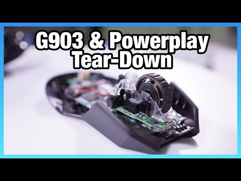 Logitech G903 + Powerplay Wireless Charging Tear-Down