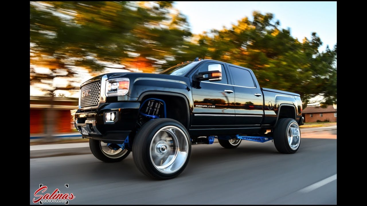 2015 Gmc Denali On 26 By 14 Inch Fuel Wheels On A 8 Inch Fts Lift