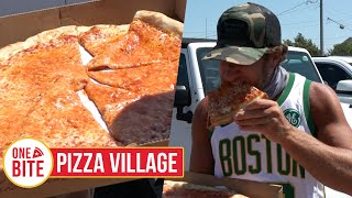 Barstool Pizza Review - Pizza Village (Montauk, NY) Bonus Cookie Review