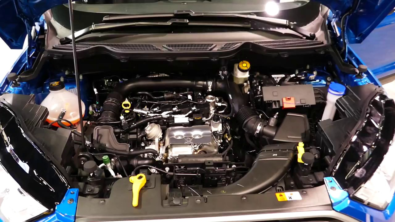 New 2019 Ford Ecosport 1 0l 3 Cylinder Engine Bay Tour 2018 Oc