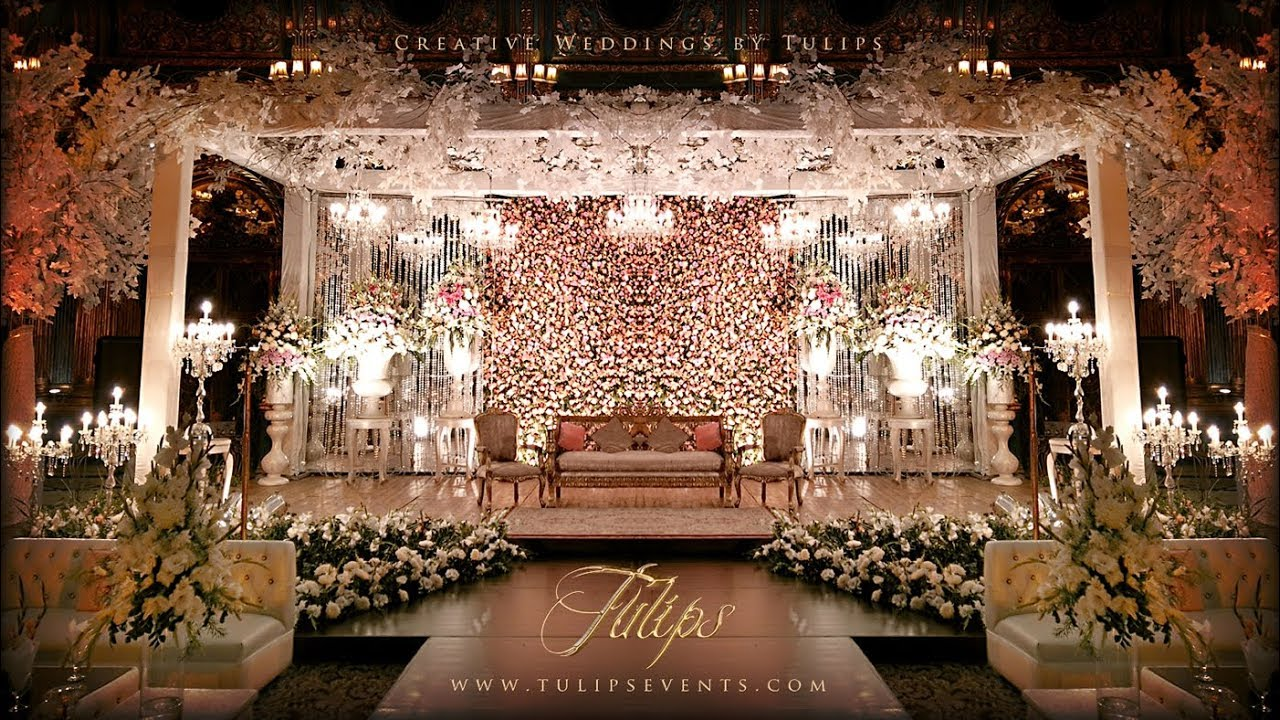 Top Best Pakistani Wedding Stages Decor Tulips Events in