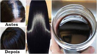 Cabelo Branco Fica Preto sem Química e sem Tinta – Faz Crescer Rápido