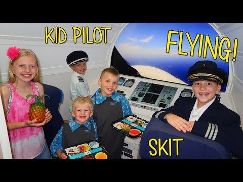 Alyssa's Missing Purse! Kid Pilot Saves the Day!