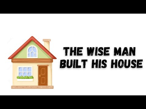 The Wise Man Built His House - HERITAGE KIDS (Lyrics Video)