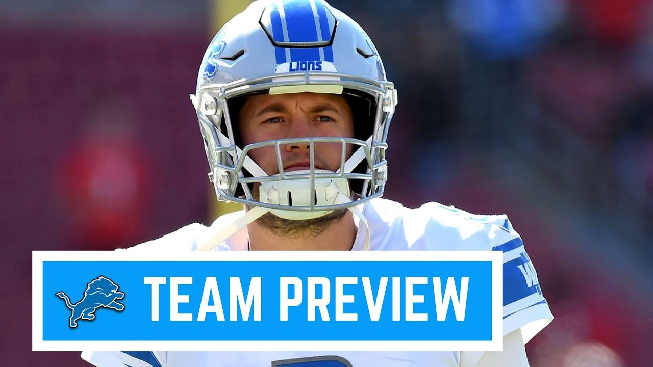 los angeles 10680 a0a9c Detroit Lions 2018 Team Preview and Prediction