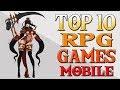 TOP 10 RPG GAMES MELHORES JOGOS MMORPG Para Android iOS 😍