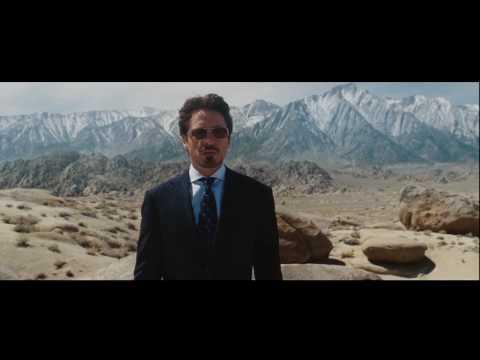 "Iron Man ""Jericho Missile Test"" Scene"