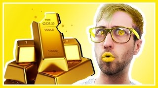 TRYING EXPENSIVE REAL GOLD PRODUCTS