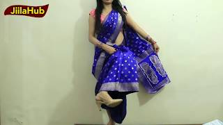 How To Wear Saree In Party Season|Dancing Style Sari To Look Hot With Heels|Jiilahub Party Styles