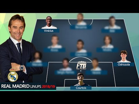 HOW REAL MADRID COULD LINEUPS WITH COURTOIS, VINICIUS, ODRIOZOLA?! thumbnail
