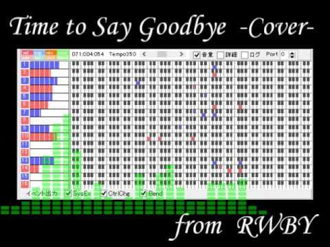 RWBY Time to Say Goodbye - cover MSGS